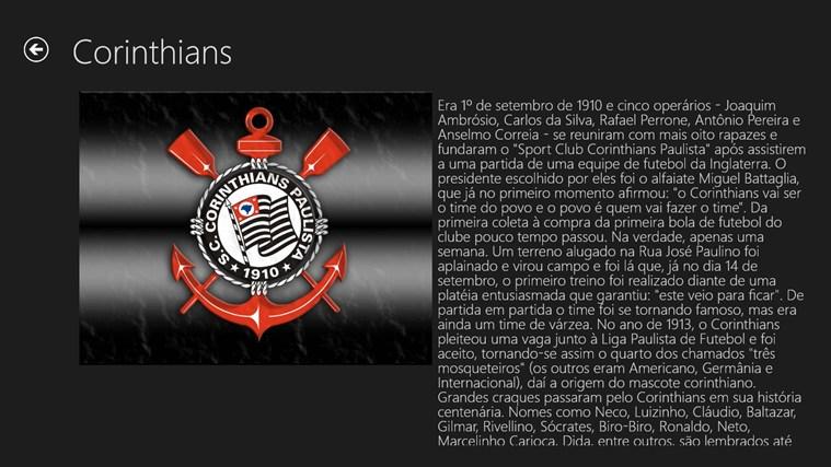 Historia dos principais clubes paulistas screen shot 2