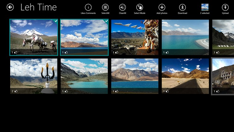 PhotoWeaver screen shot 8