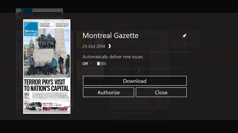 Montreal Gazette ePaper capture d'écran 4