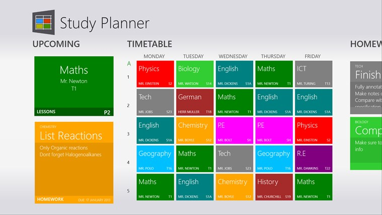 Study Planner screen shot 0