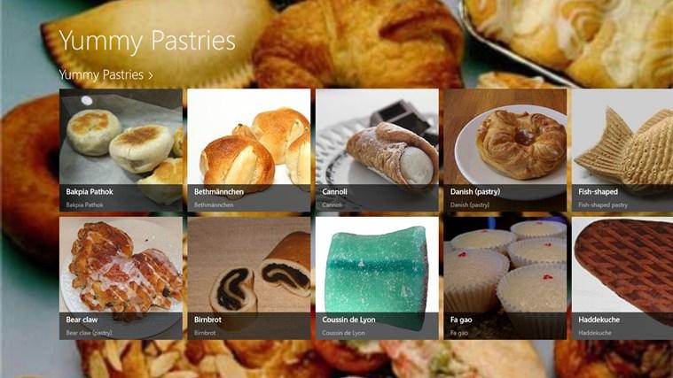 Yummy Pastries screenshot 0
