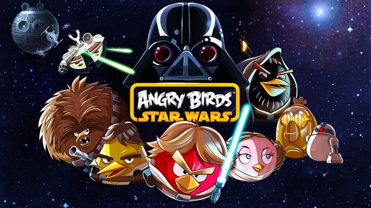 Angry Birds Star Wars screen shot 0