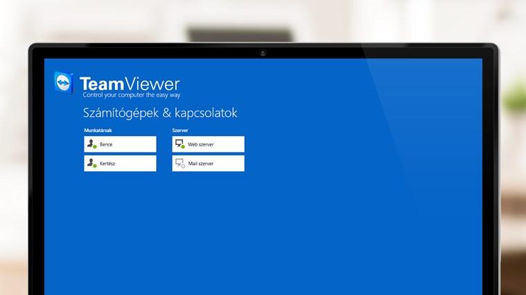 TeamViewer Touch – 2. képernyőkép