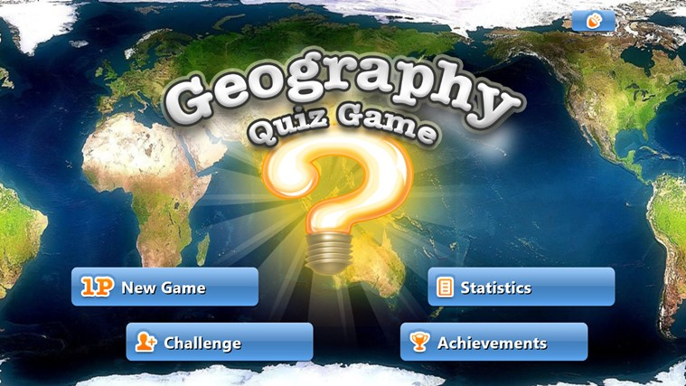 Geography Quiz Game screen shot 0