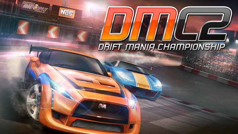 Drift Mania Championship 2 for iPhone, iPad, iPod touch full screenshot