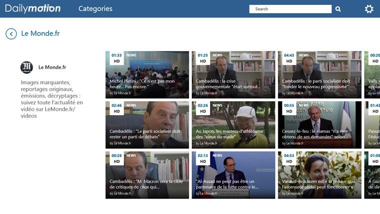 Dailymotion screen shot 8