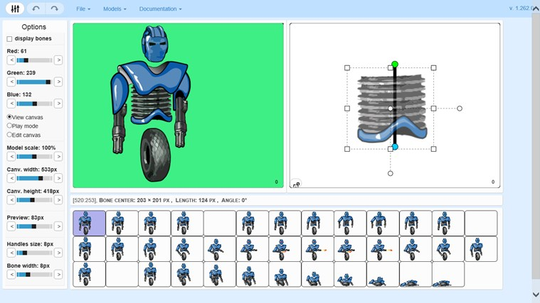 Trial Anatomy Sprite Animator 2 screen shot 2