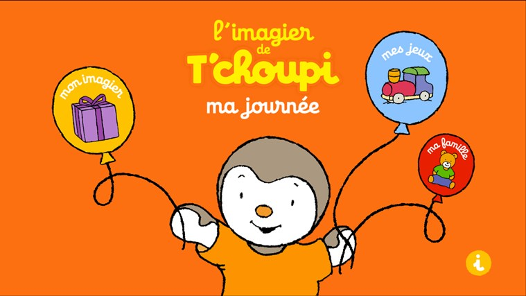 L'imagier–jeu : la journée de T'choupi screen shot 0