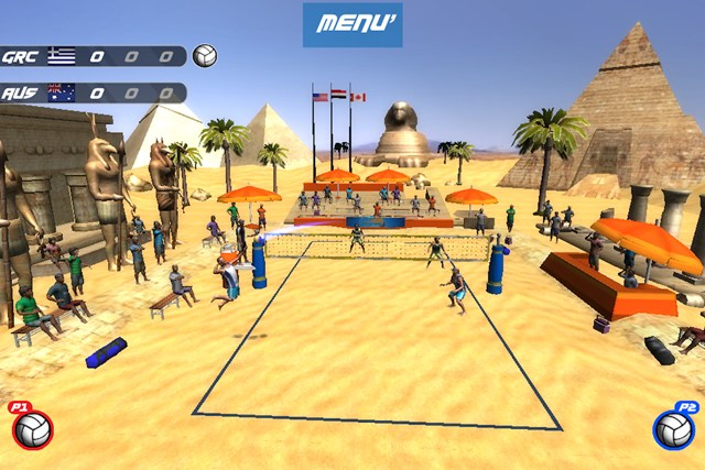Volleyball Extreme Edition screen shot 2