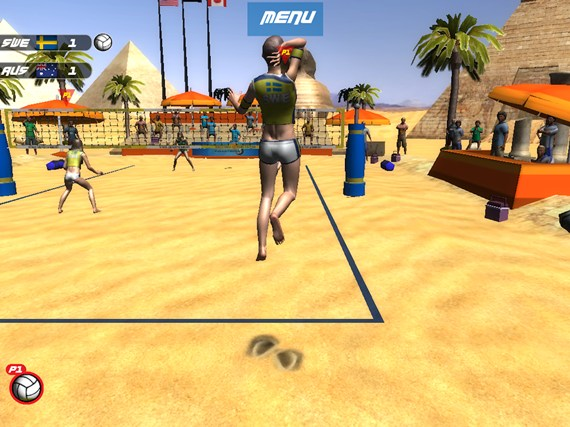Volleyball Extreme Edition screen shot 4