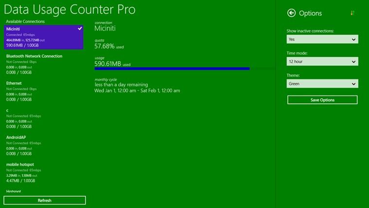 Data Usage Counter Pro screen shot 4