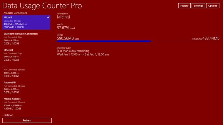 Data Usage Counter Pro screen shot 6