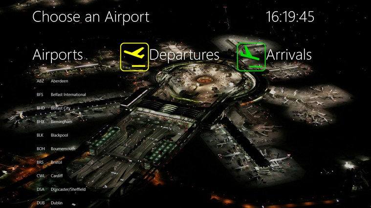 APPA Flight Info screen shot 0