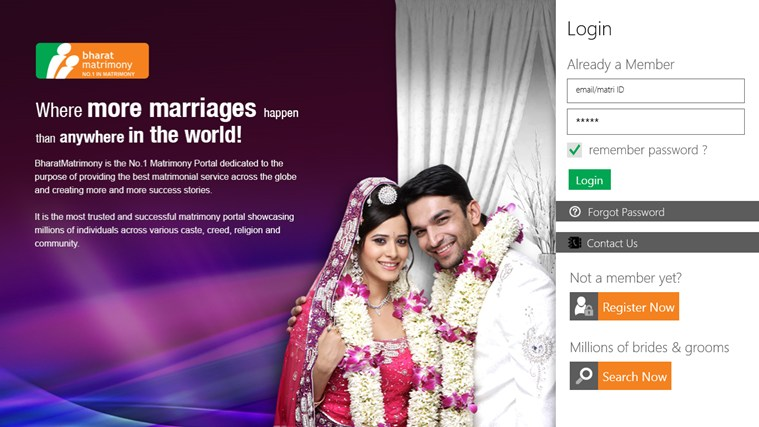 BharatMatrimony full screenshot
