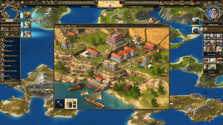 Grepolis captura de pantalla 0