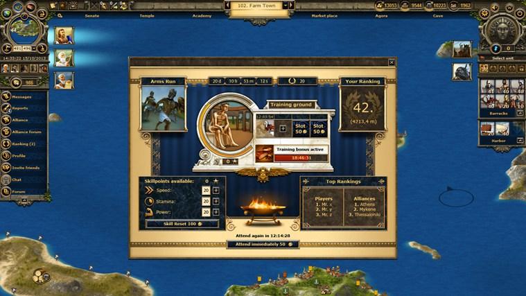Grepolis captura de pantalla 2
