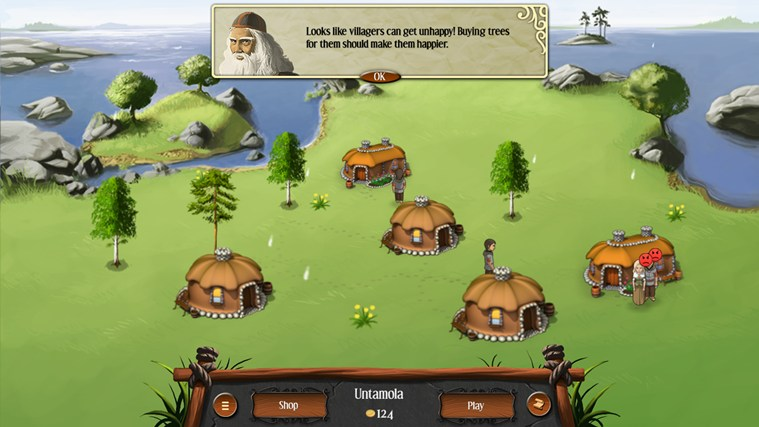 Heroes of Kalevala screen shot 4