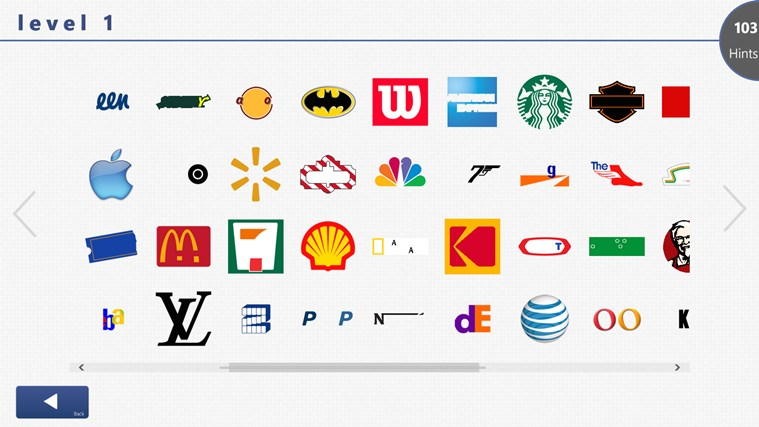 Logos Quiz+ for Windows 8 app, free download on Store