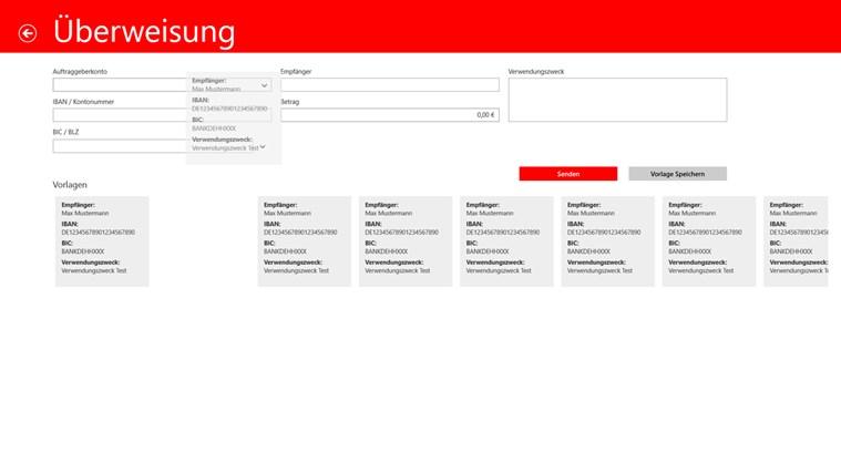 Sparkasse Screenshot 8
