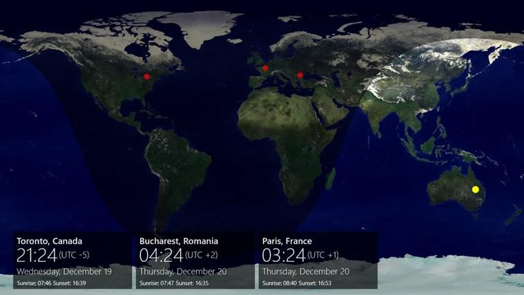 WorldTime 8 full screenshot