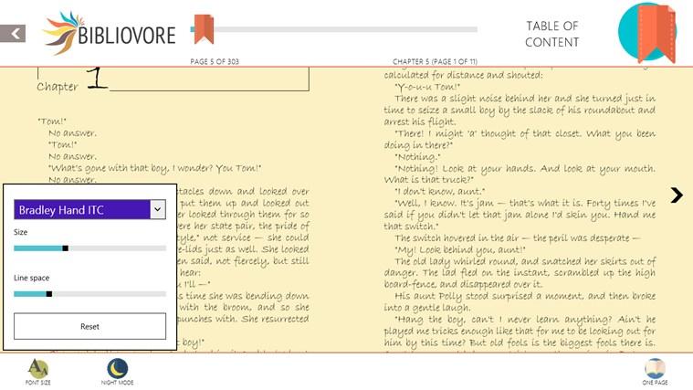 Bibliovore screen shot 4