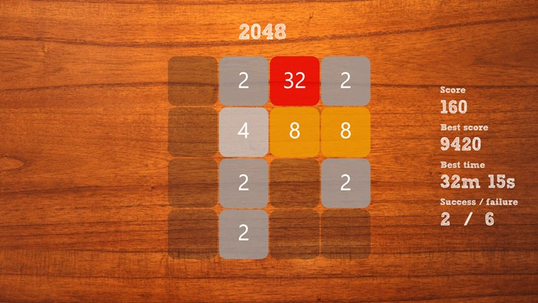 """2048"" screen shot 0"