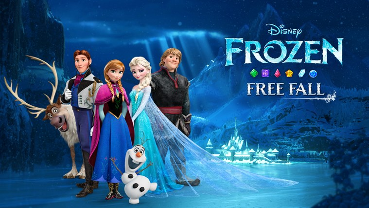 Frozen Free Fall screen shot 0