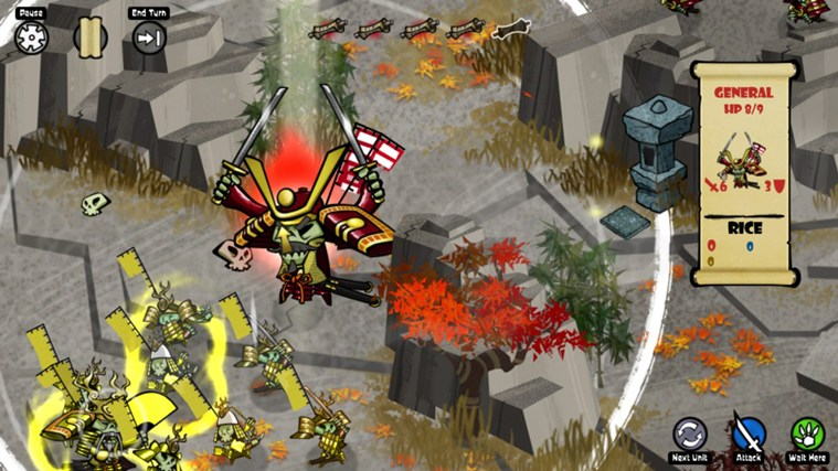 Skulls of the Shogun screen shot 0