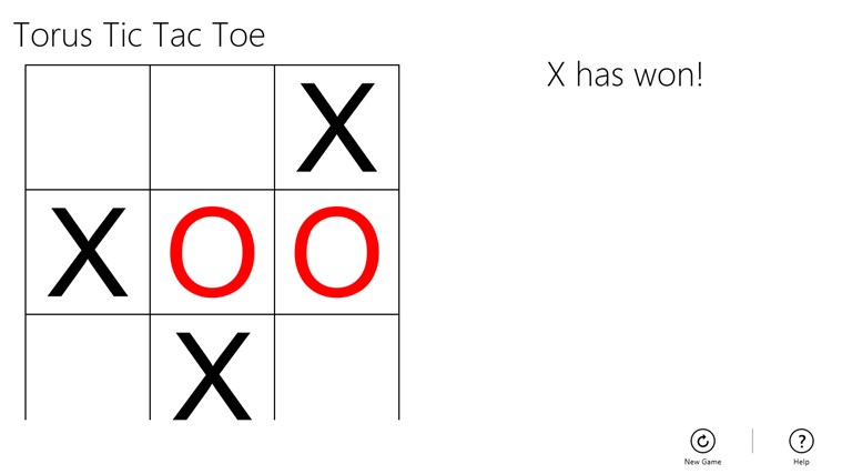 Torus Tic Tac Toe screen shot 2