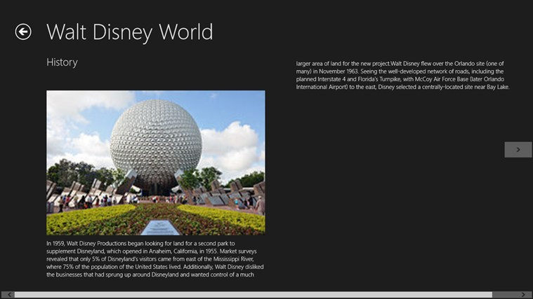 WALT DISNEY WORLD Screenshot 2