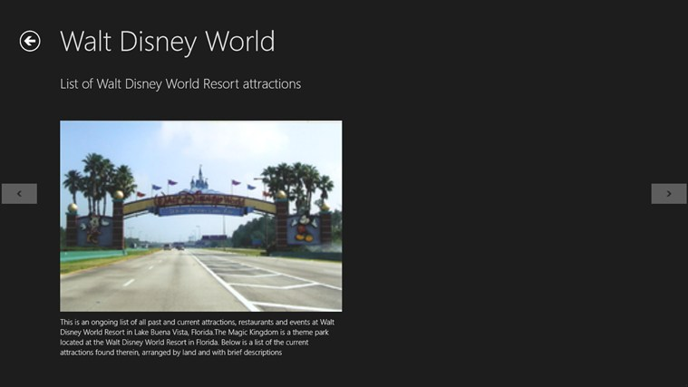 WALT DISNEY WORLD Screenshot 4
