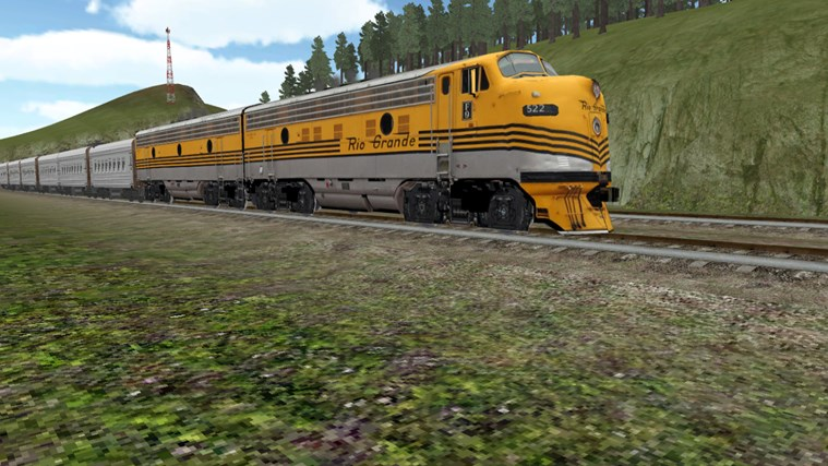 Train Sim screen shot 0