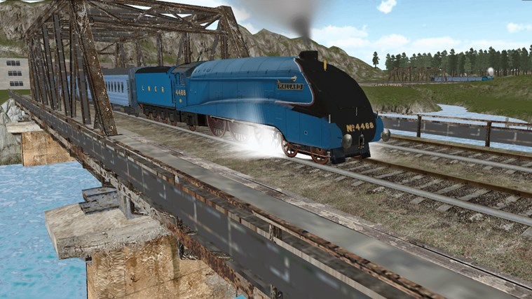 Train Sim screen shot 6
