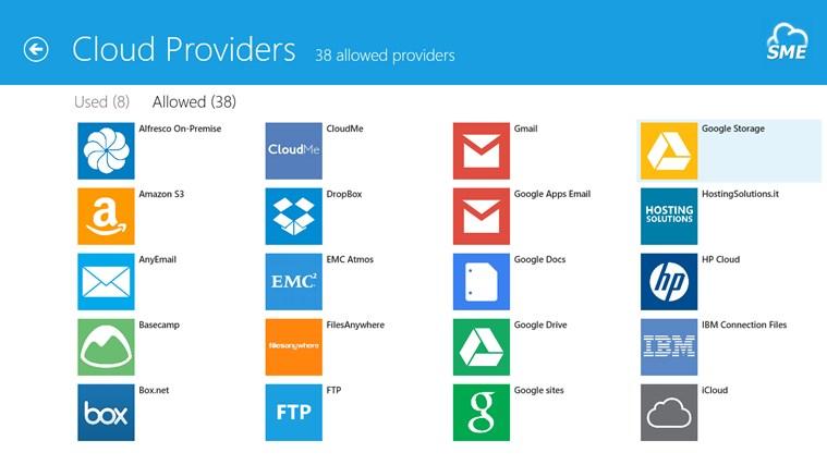 Cloud File Explorer screen shot 2