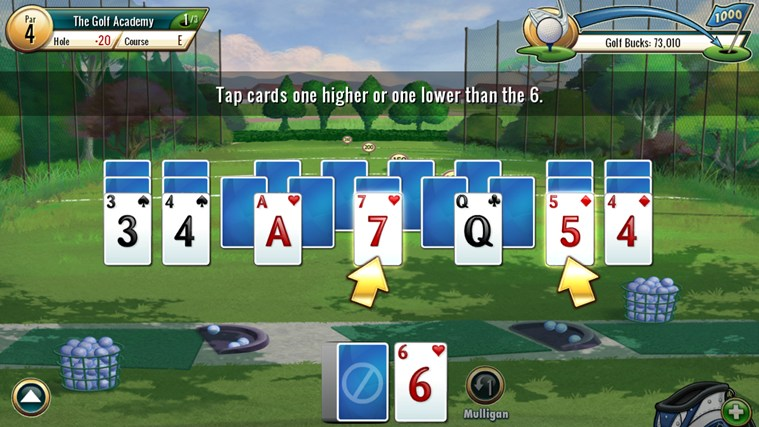 Fairway Solitaire by Big Fish screen shot 0