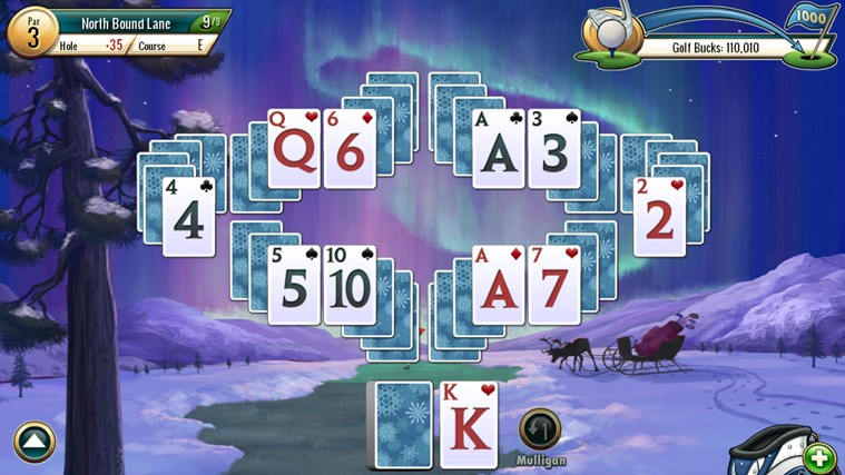 Fairway Solitaire by Big Fish screen shot 4