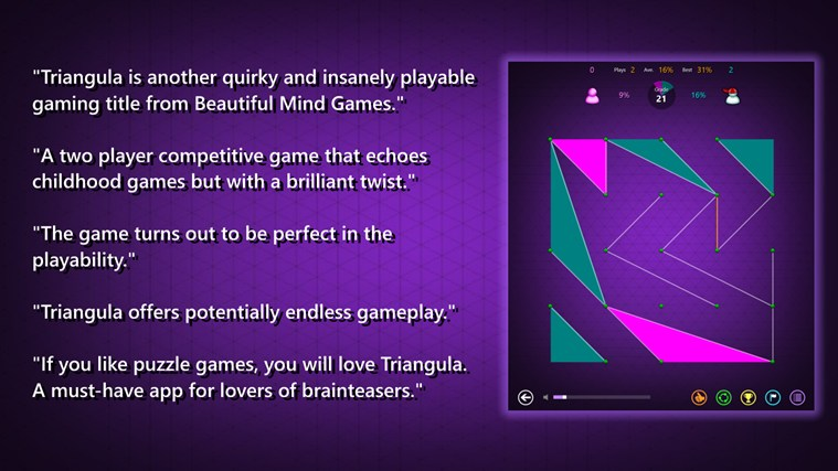 Triangula screen shot 0