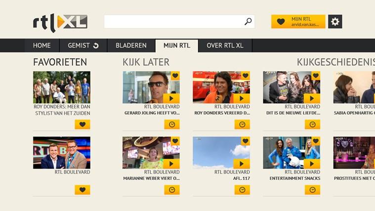 RTL XL schermafbeelding 4