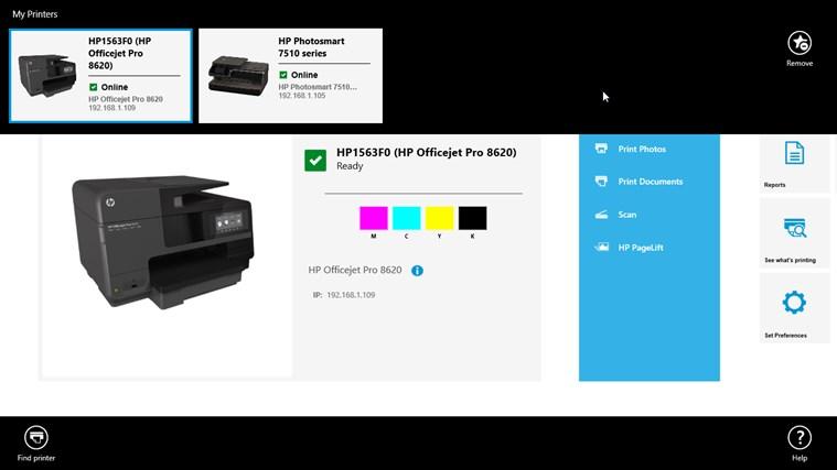 HP All-in-One Printer Remote screen shot 2