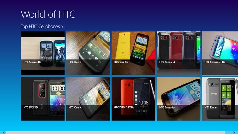 HTC mobiles ภาพหน้าจอ 2