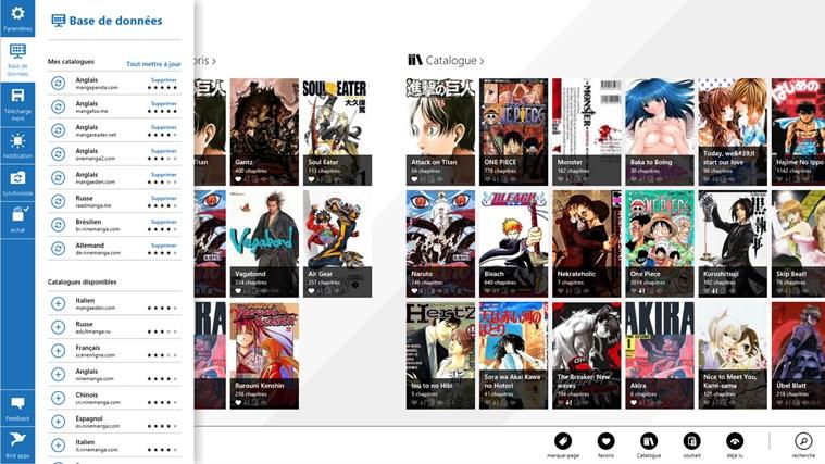 Manga Bird capture d'écran 0