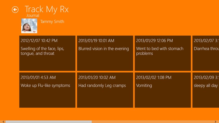Track My Rx screen shot 2