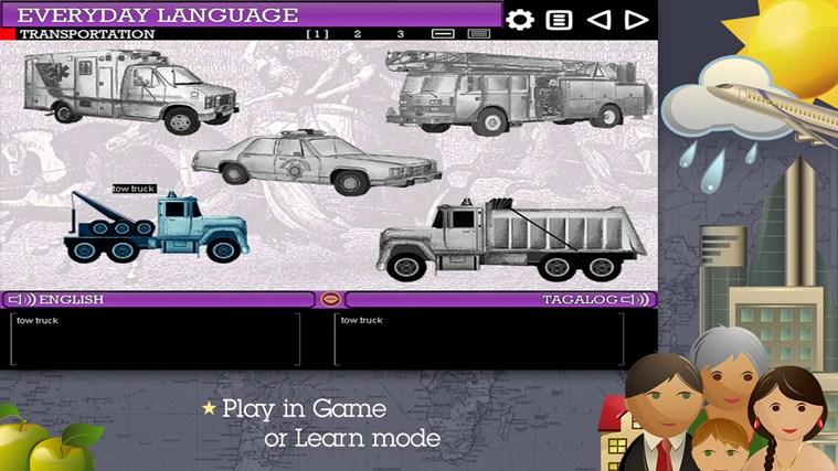 Play & Learn Tagalog skjermbilete 2