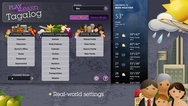 Play & Learn Tagalog skjermbilete 4