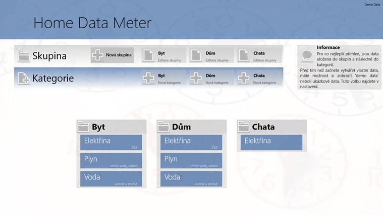 HomeDataMeter snímek obrazovky 4
