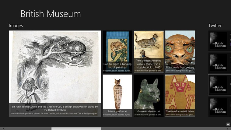 British Museum Fan App captura de pantalla 2