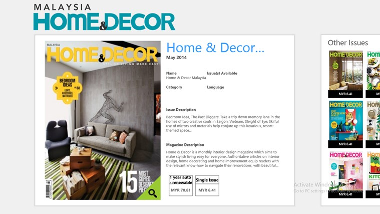 home amp decor malaysia app for windows in the windows store