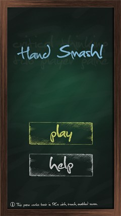 Hand Smash! Windows 8 Game