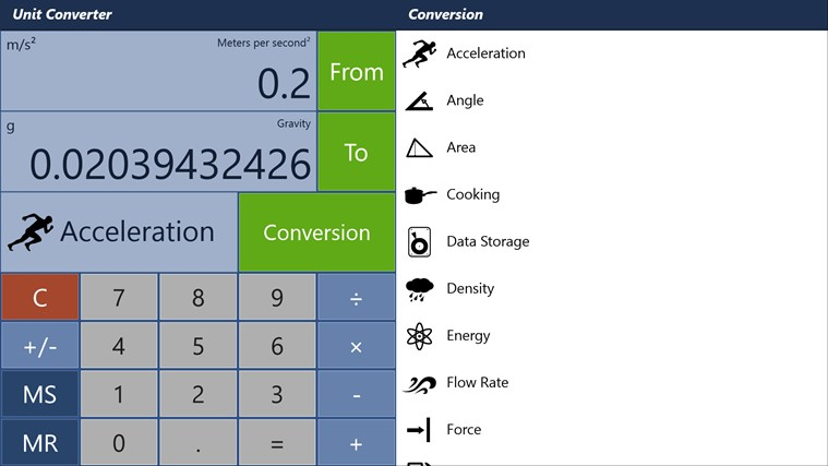 Converter Pro - Unit & Currency Conversions skjermbilete 0