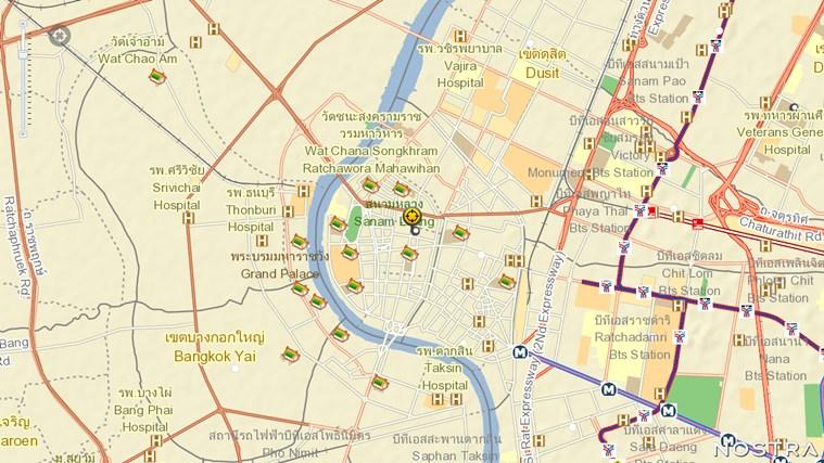 NOSTRA Map Thailand ภาพหน้าจอ 0